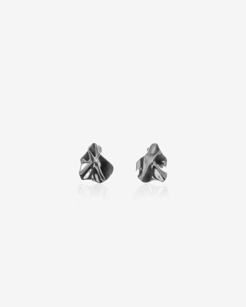 Wave – sølv ørestikkere