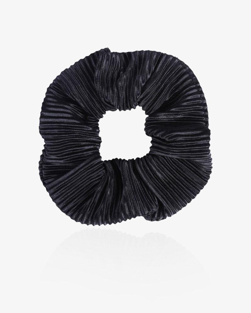Klassisk scrunchie – sort
