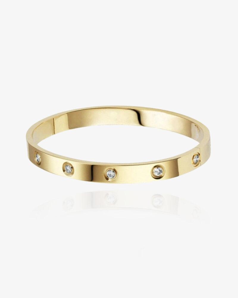 Bella – guld armbånd