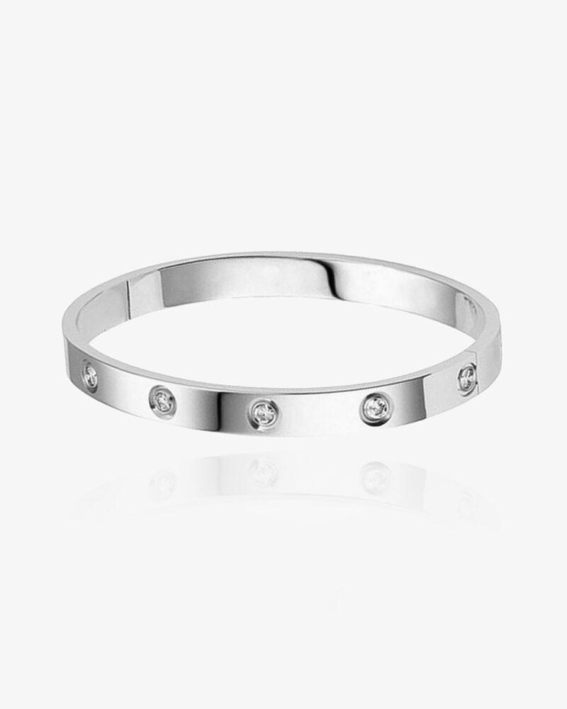 Bella – sølv armbånd