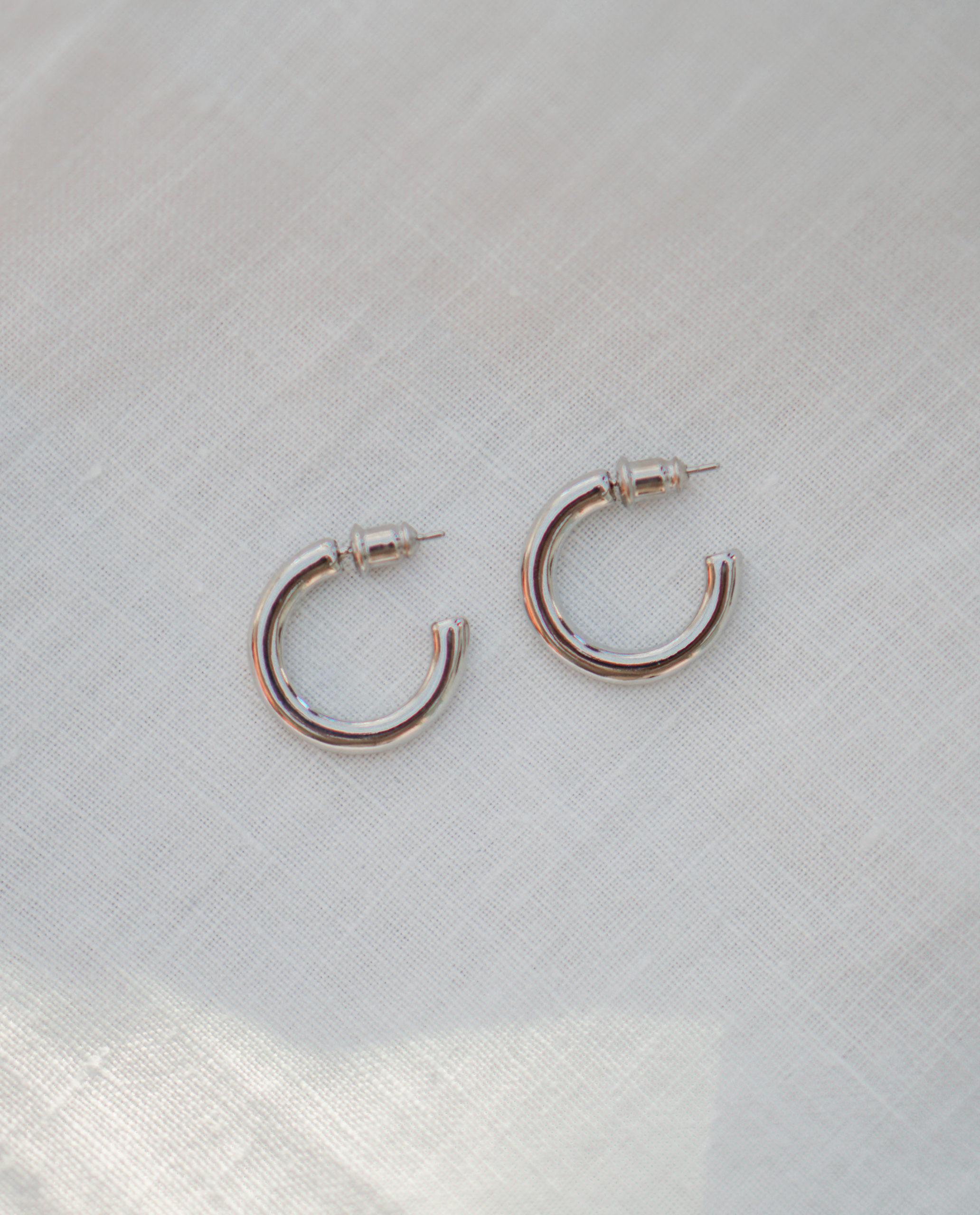 Sif – sølv øreringe
