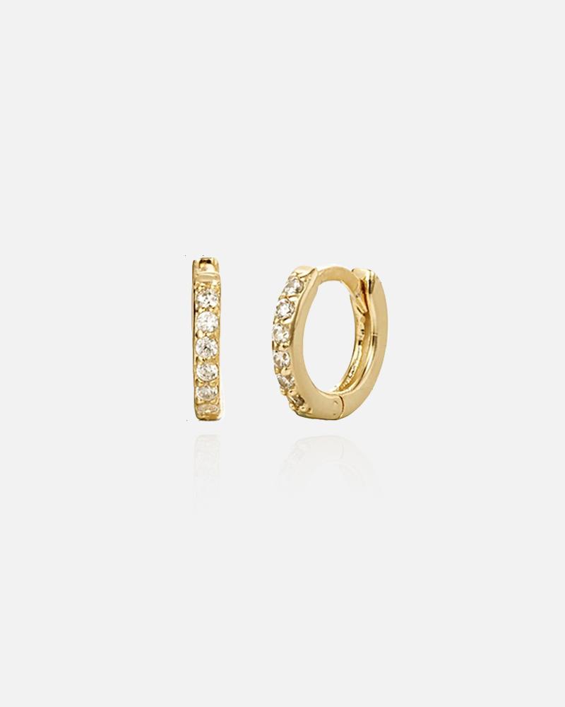 Dina – guld hoops