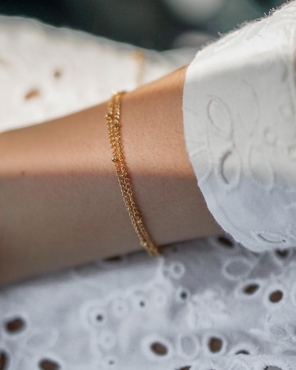 Lucy – guld armbånd