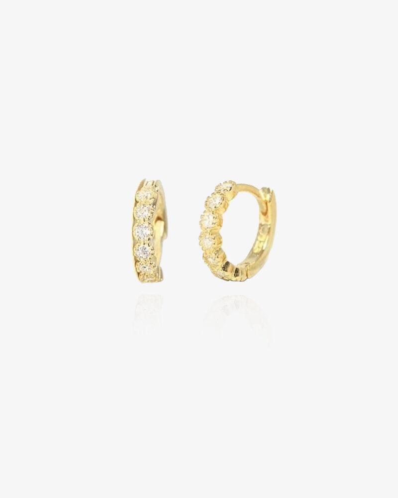Isabel – guld hoops