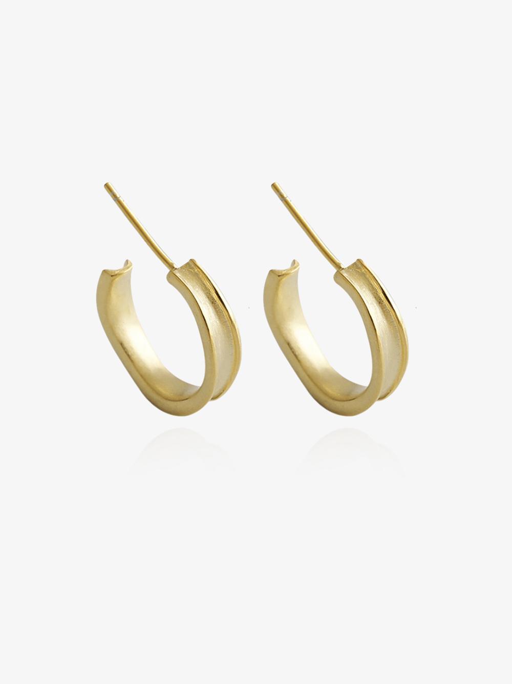 Audrey – Guld øreringe