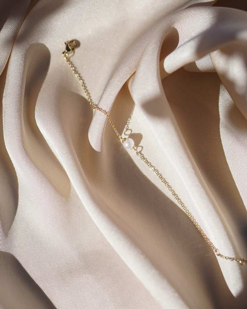 Pearl – guld armbånd