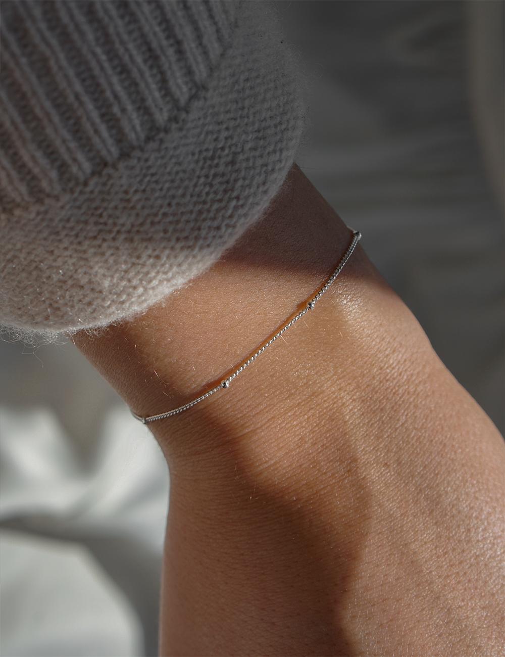 Mara – sølv armbånd