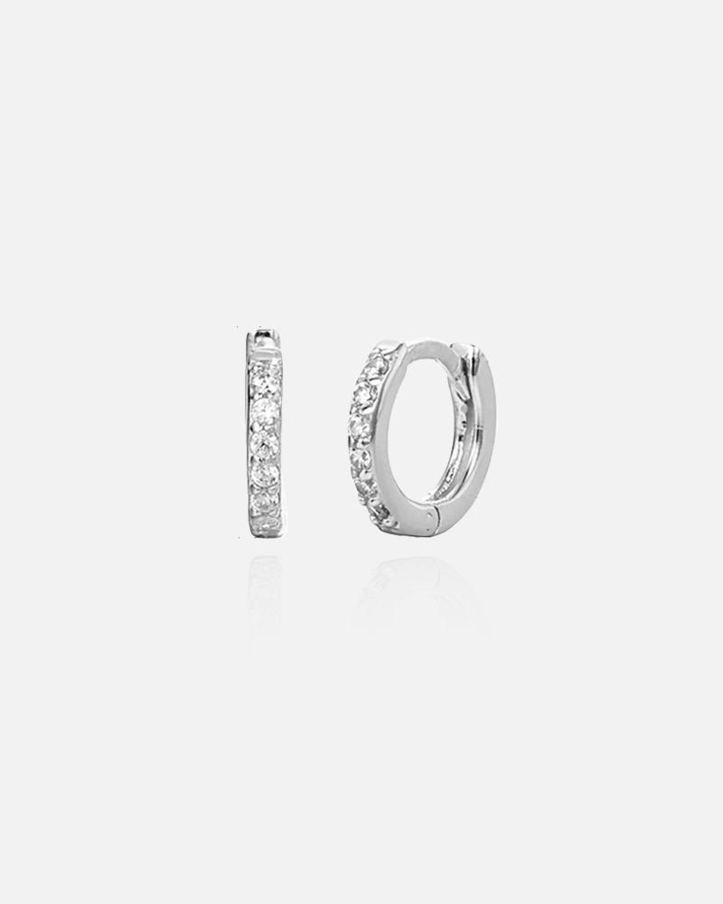 Dina – sølv øreringe