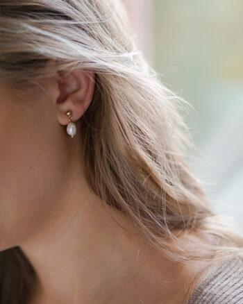 baroque perle øreringe