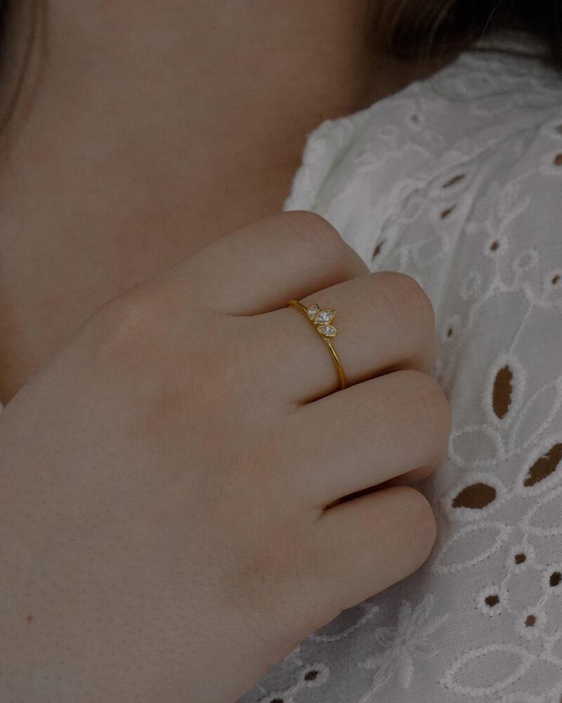 Vera – Guld ring