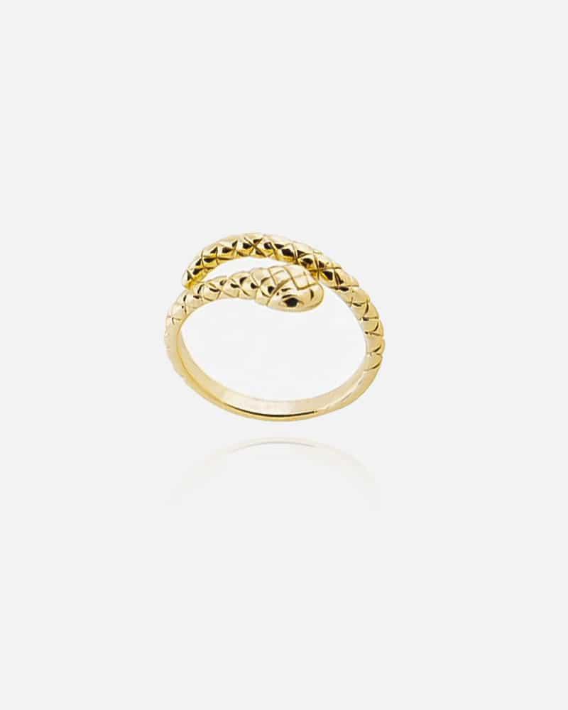 Snake – Guld ring
