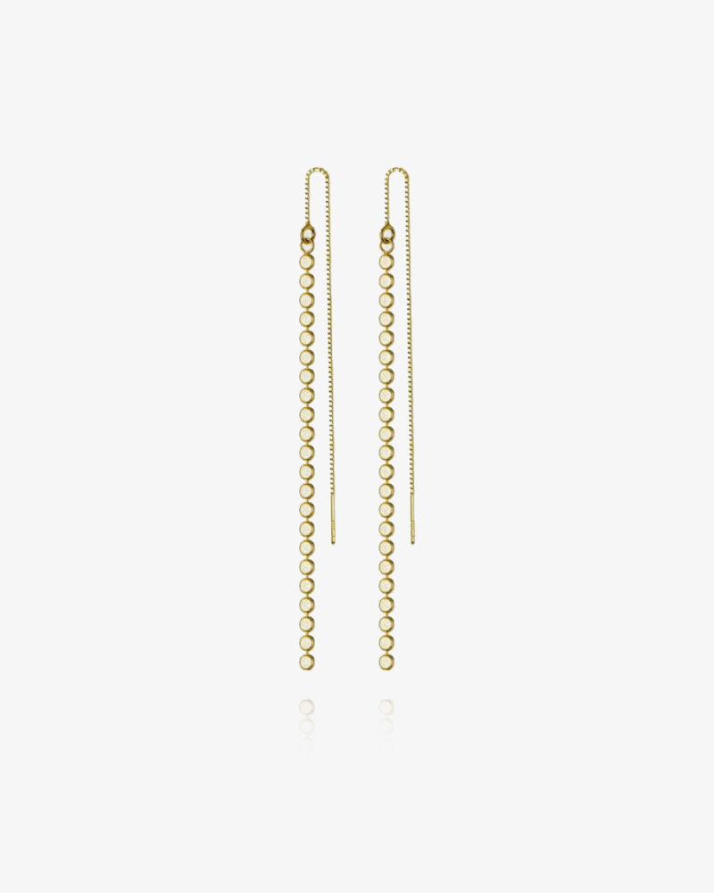Amira – Guld øreringe