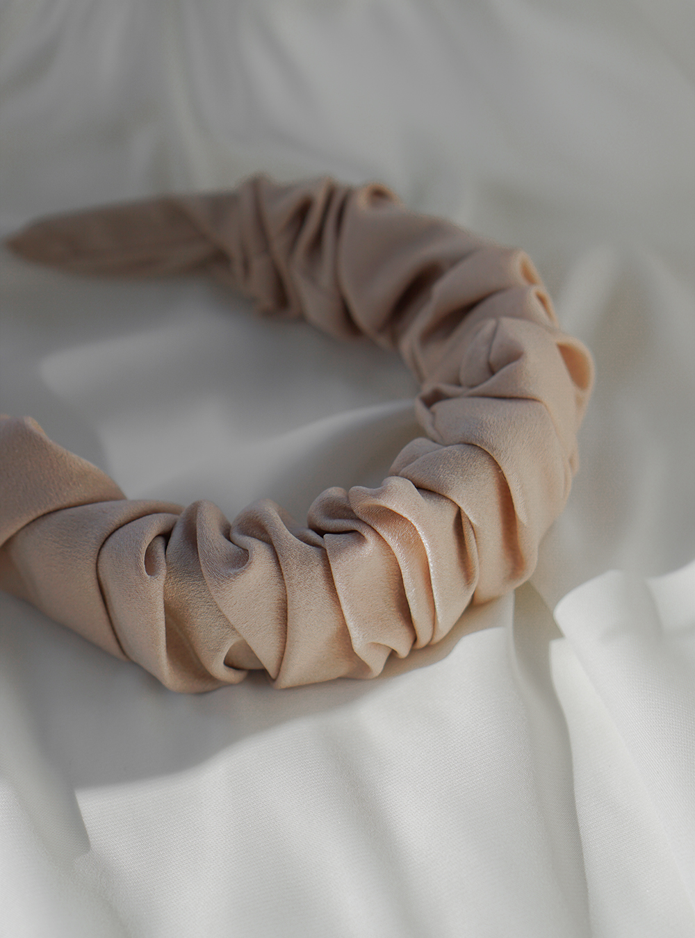 Bred hårbøjle – rosa