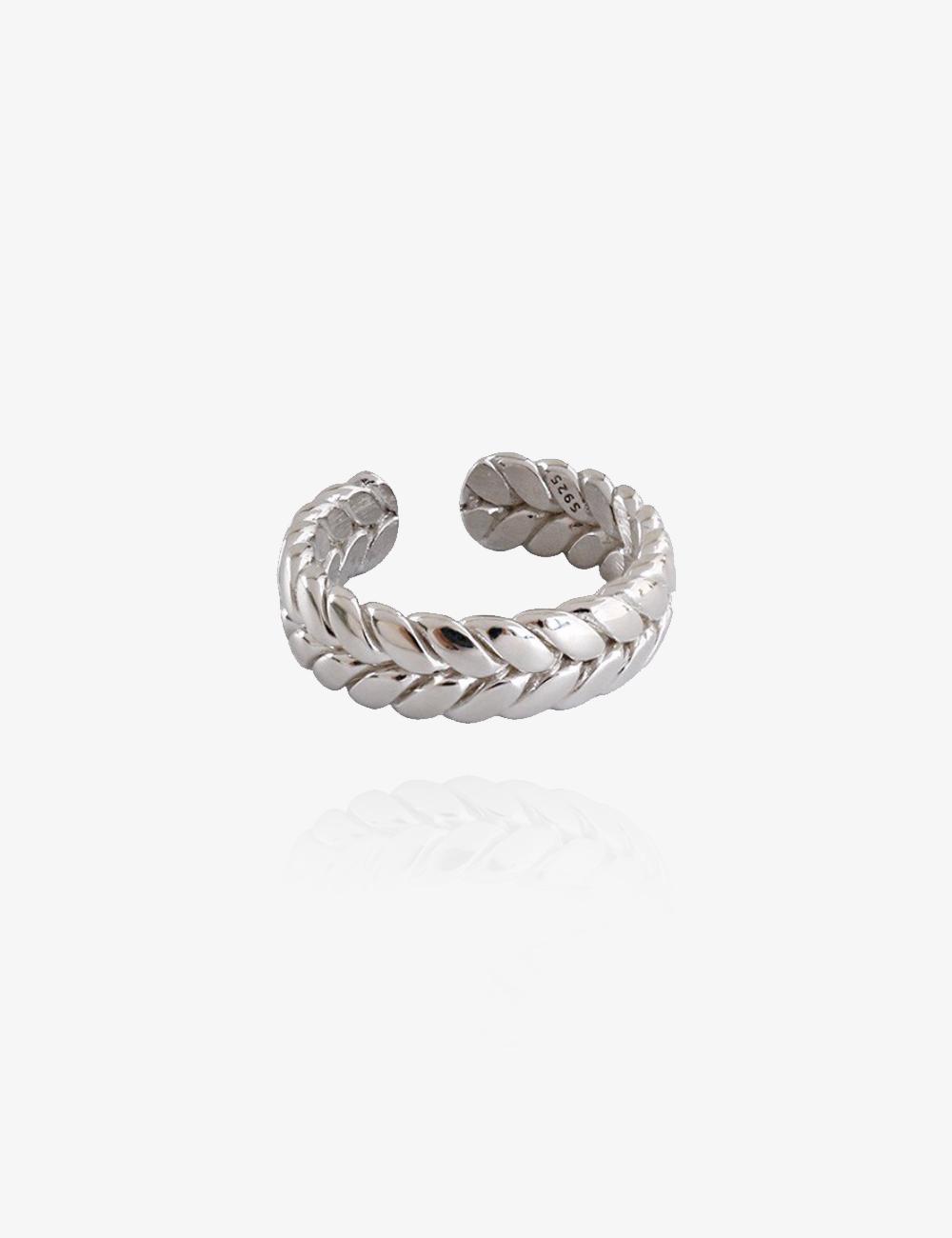 Twisted – Sølv ring