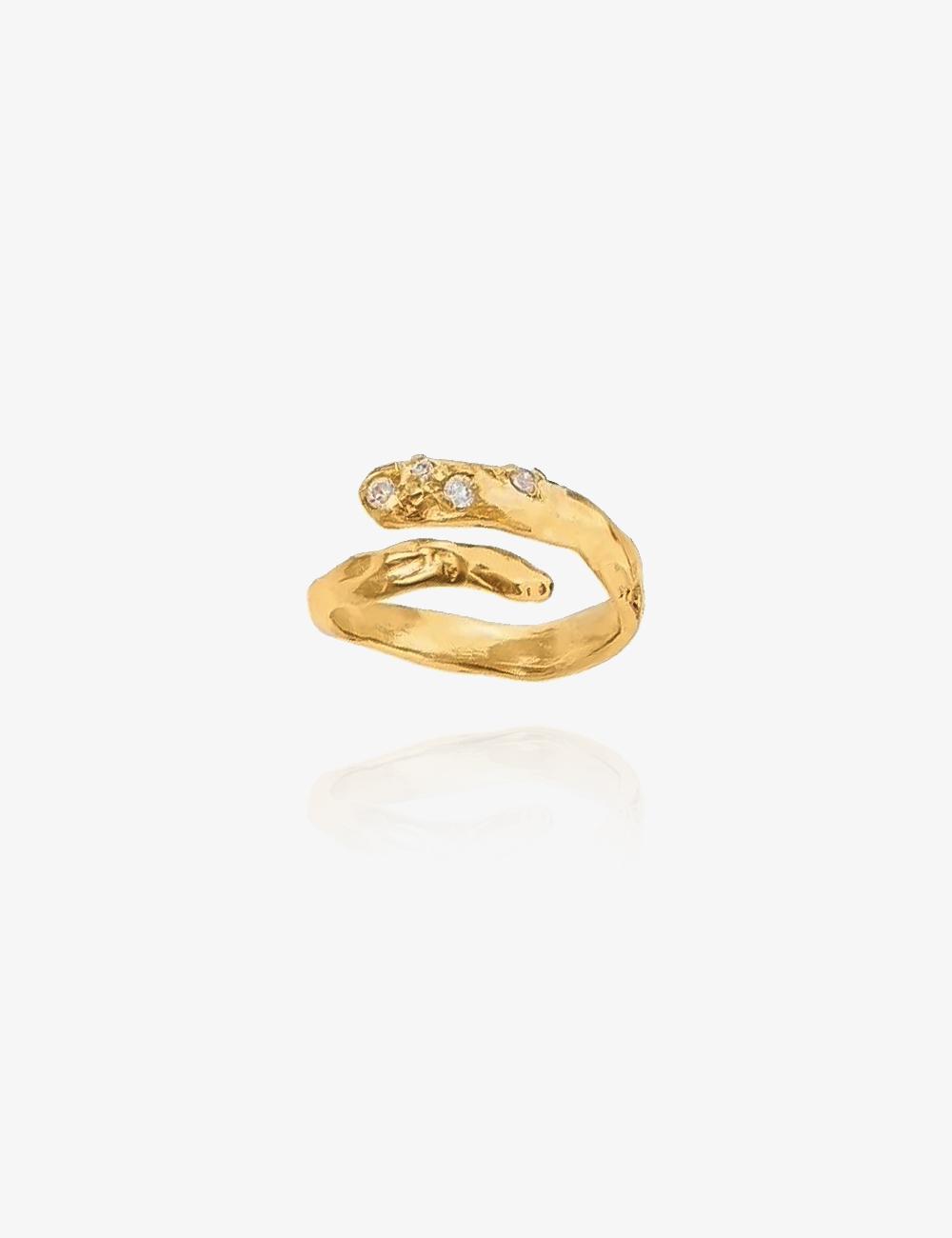 Samira – Guld ring