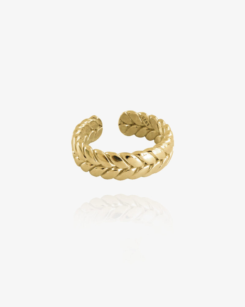 Twisted – Guld ring