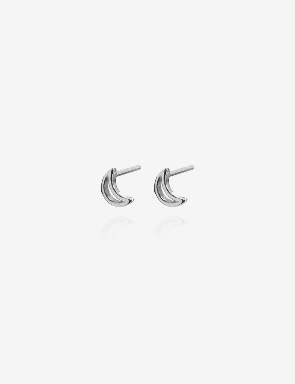 Moon – Sølv ørestikkere