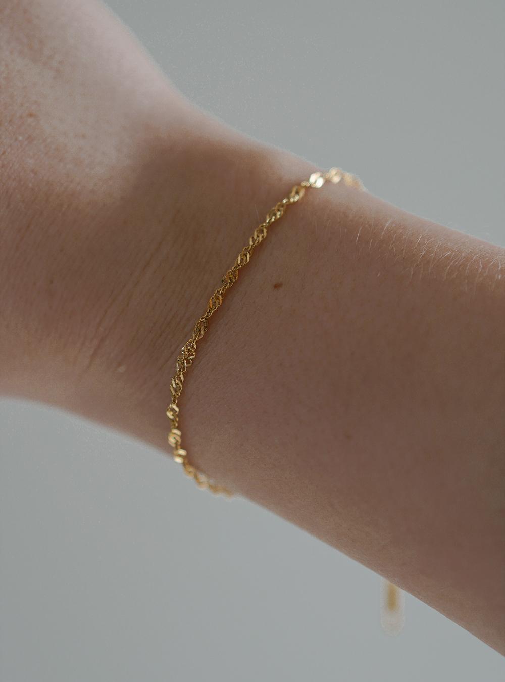 Alva – Guld armbånd