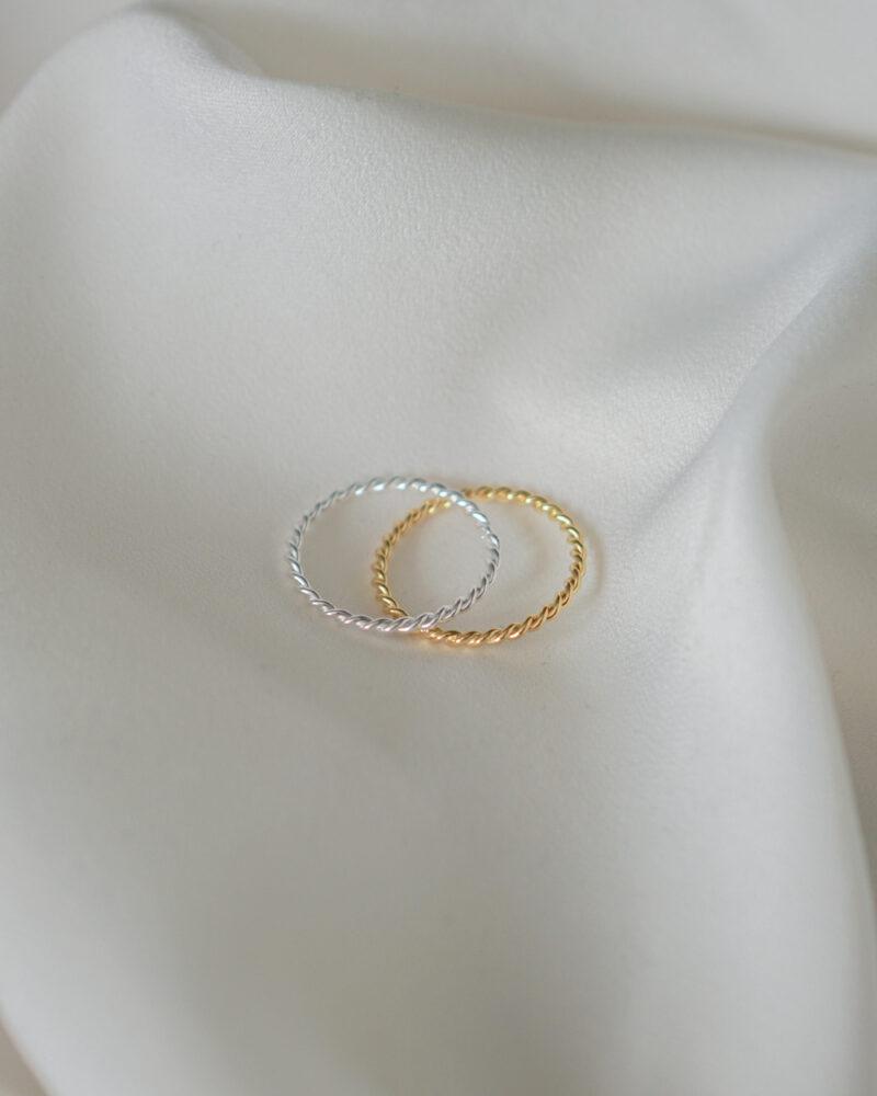 Twirl – Guld ring