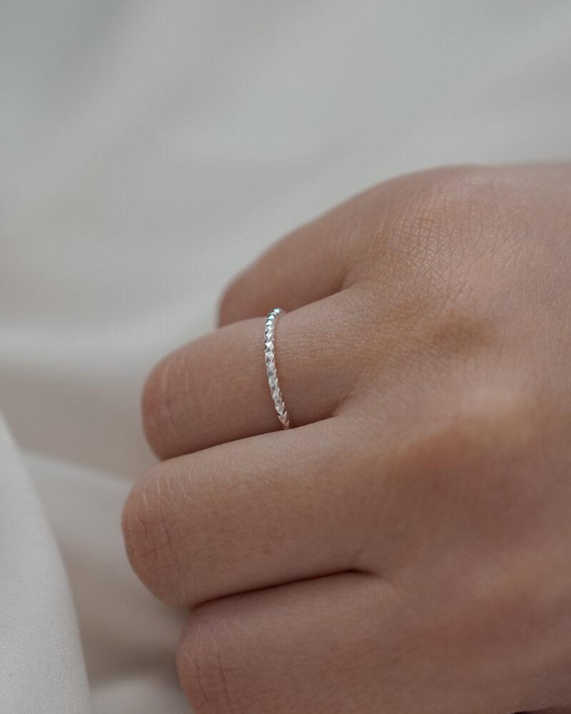 Amelia – Sølv ring