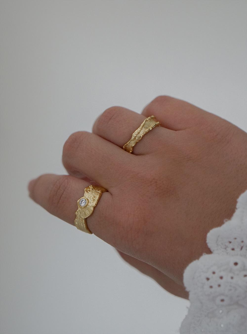 Ebba – Guld ring