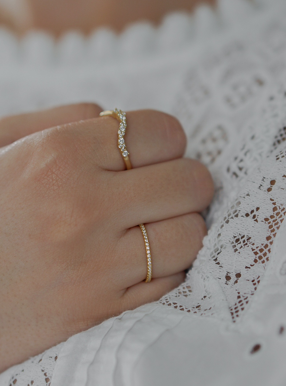Mary – Guld ring