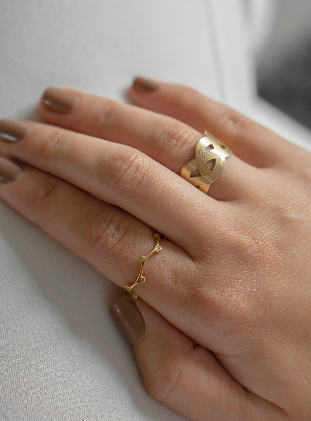 Philippa – Guld ring