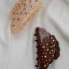 Hårklemme - brun & beige