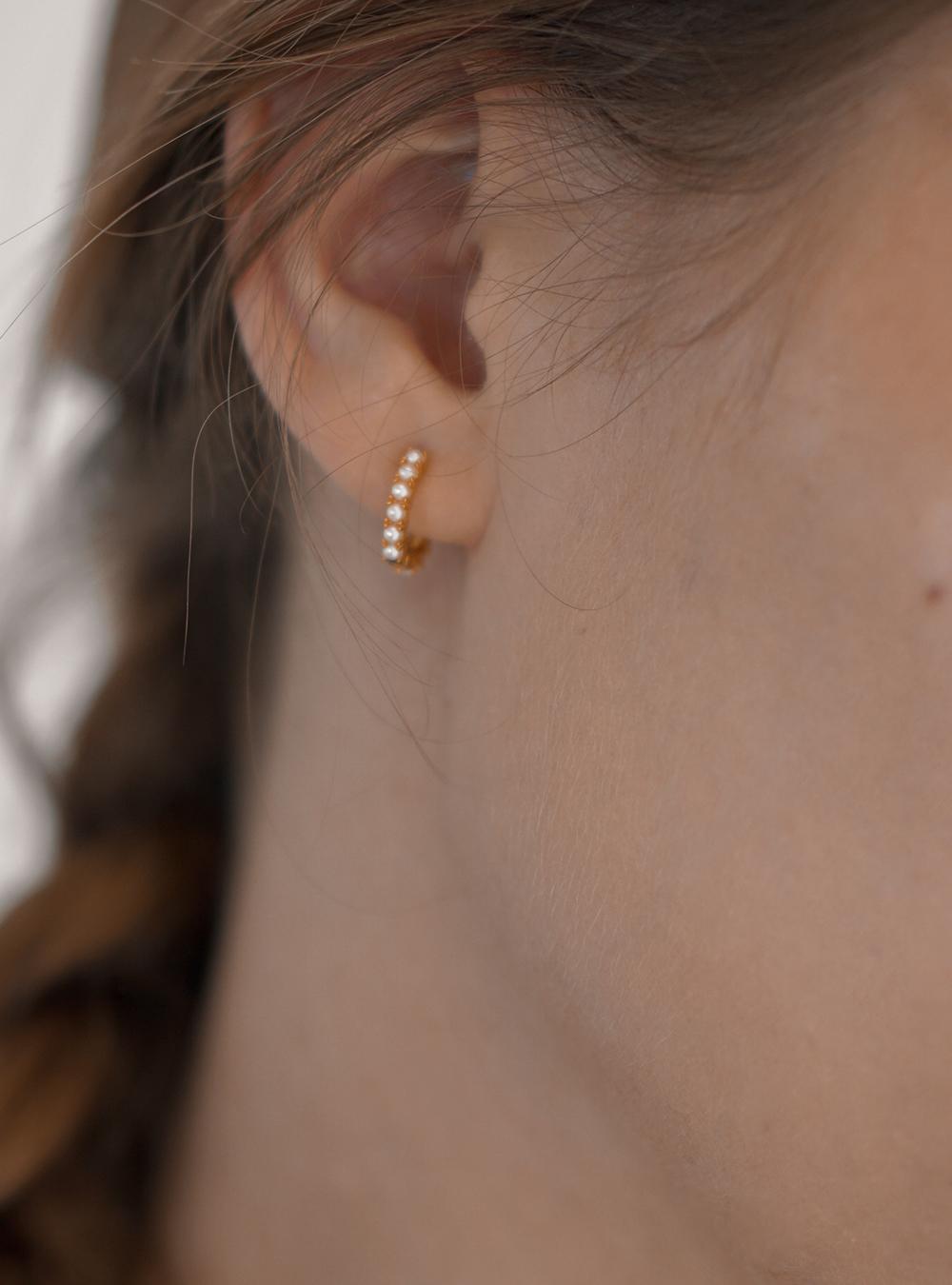 Nala – Guld øreringe