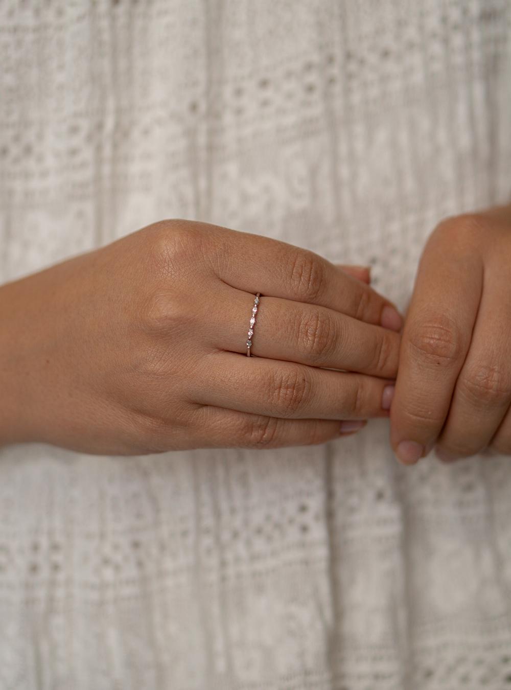 Isabel – Sølv ring