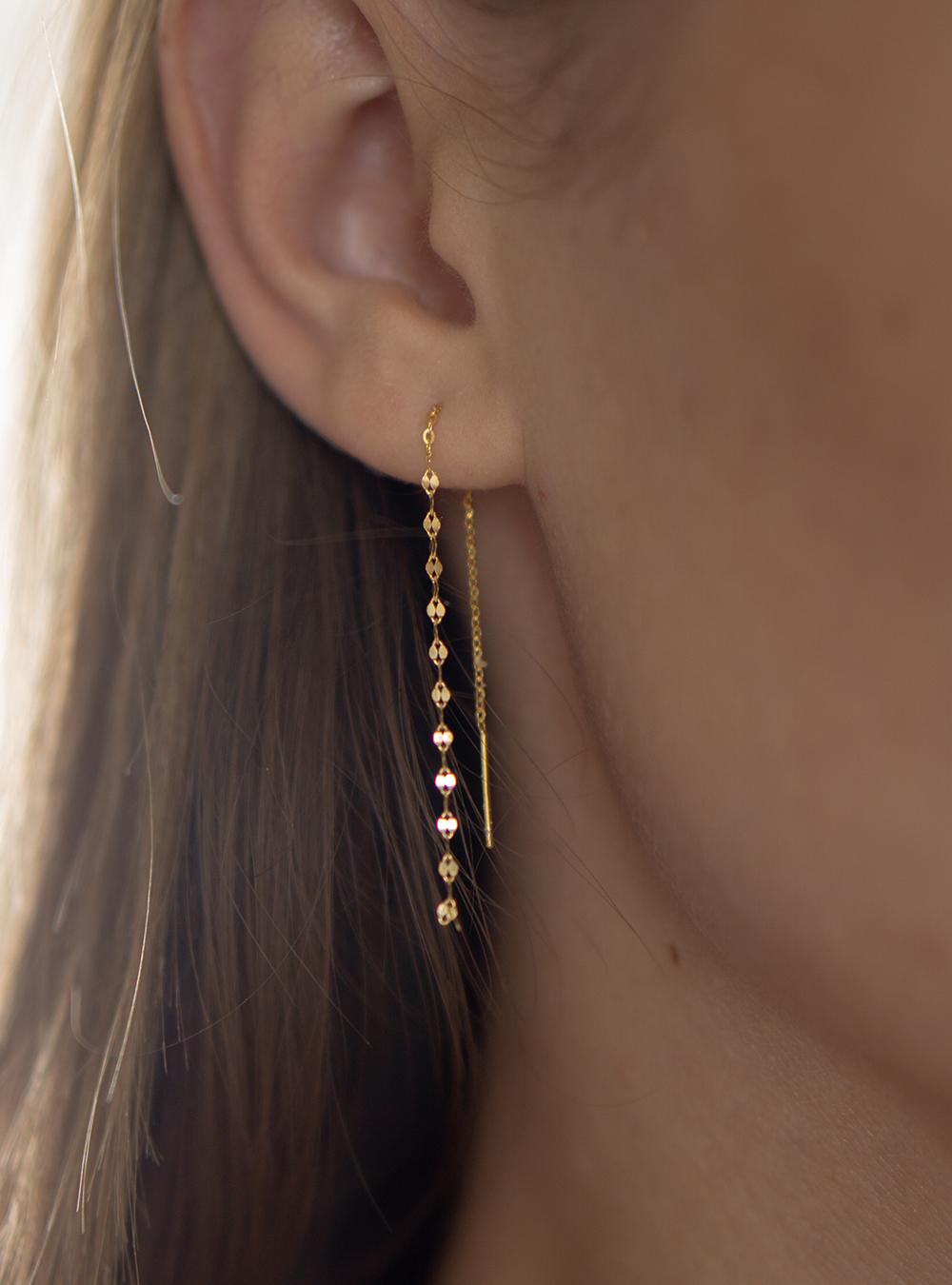Erika – Guld øreringe