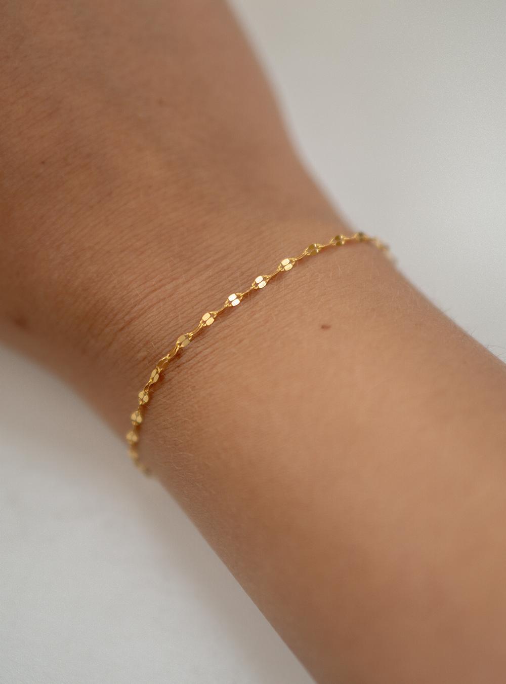 Erika – Guld armbånd