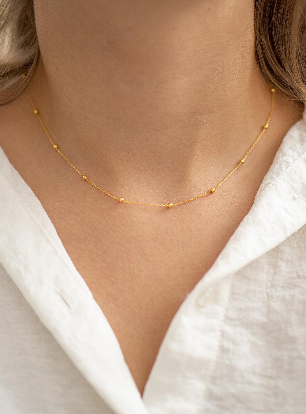 Mara – Guld halskæde
