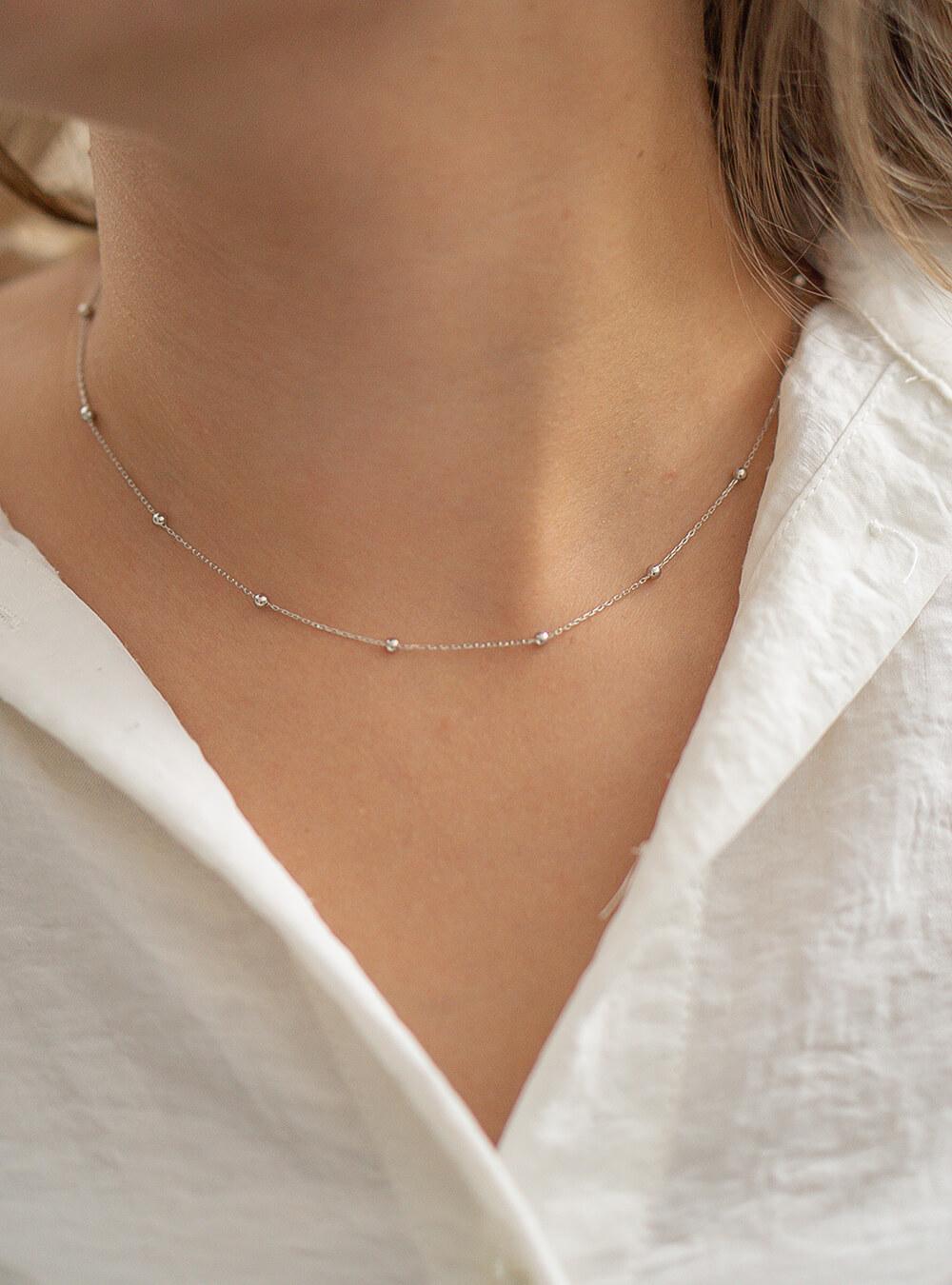 Mara – Sølv halskæde