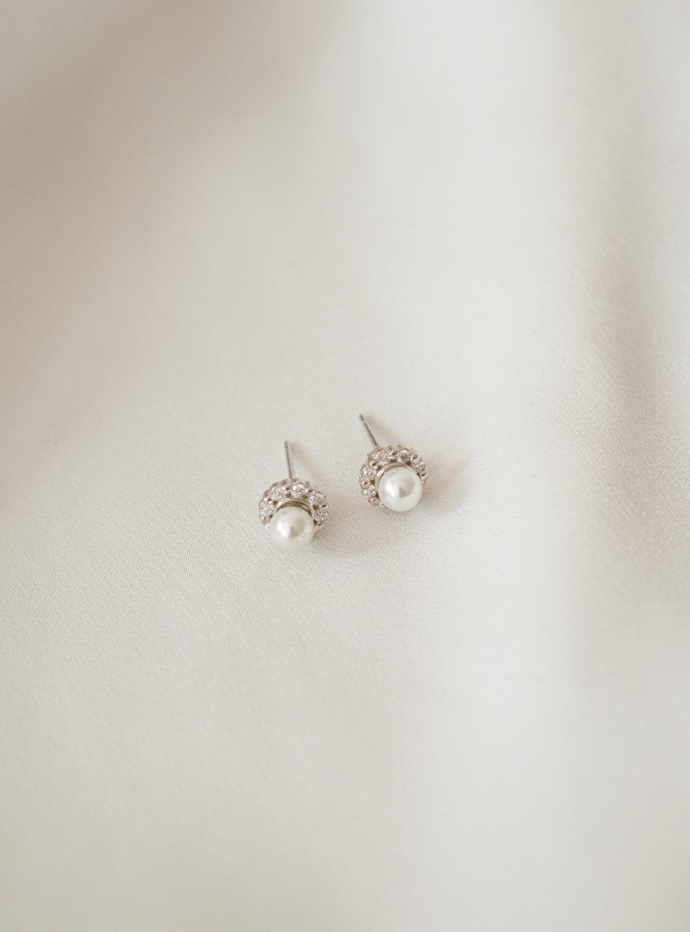 Jada – Sølv øreringe