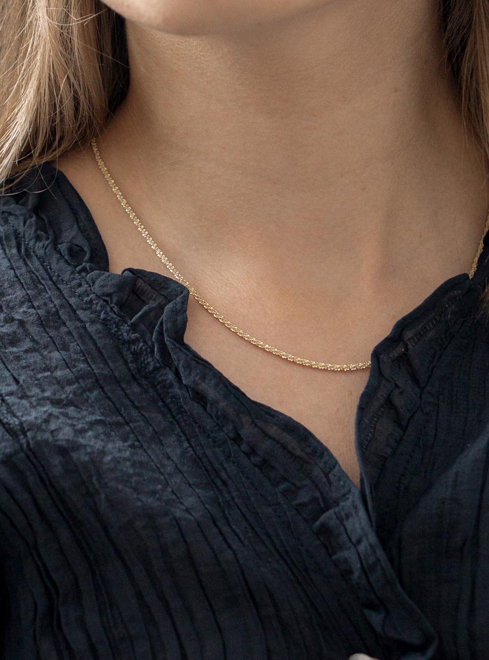 Ciara – Guld halskæde